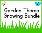 Garden Theme Classroom Decor Bundle {Word Wall- editable,