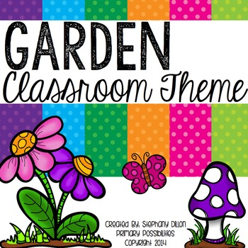 Garden Theme Classroom Packet