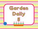 Garden Theme Daily 5 Signs