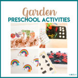 Garden Theme Math, Literacy, STEM, and Art Activities for