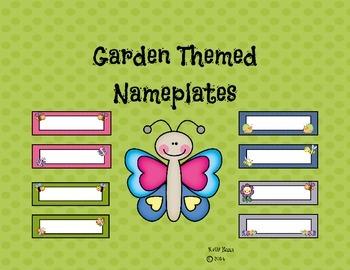 Garden Theme Nameplates