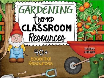 Garden Theme Decor Pack