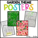Garden Theme Poster Set