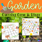Garden Theme Speech and Language Activities for Vocabulary