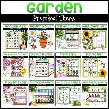 Garden Bundle | Math & Literacy Activities