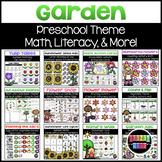 Garden Bundle | Math, Literacy, & Dramatic Play
