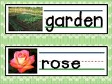 Garden Theme Words