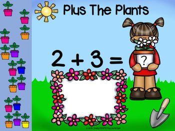 Garden Themed Addition Activities For GOOGLE CLASSROOM