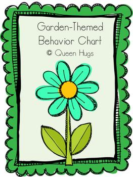 FREE Garden-Themed Behavior Chart