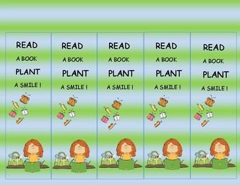 Garden Activities Bookmarks (Free)