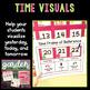 Garden Themed Calendar Pieces and Vocabulary Cards
