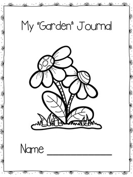 Garden Themed Journal Prompts and Story Starters