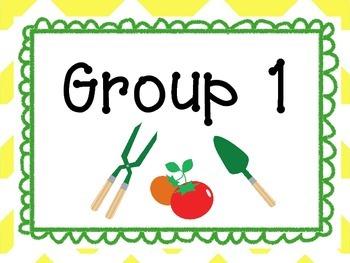 Garden Themed Teacher Kit