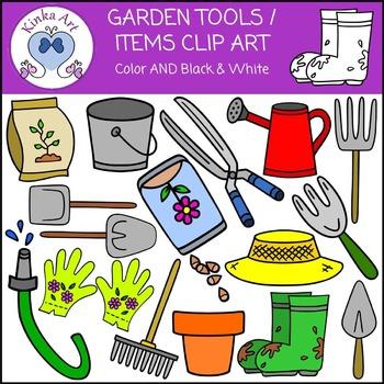 Garden Tools Clip Art