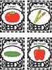 LIFE SKILL MATCHING TASK Garden Vegetables