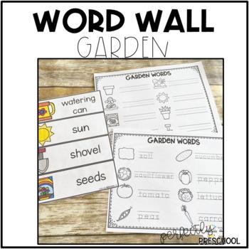 Garden Word Wall