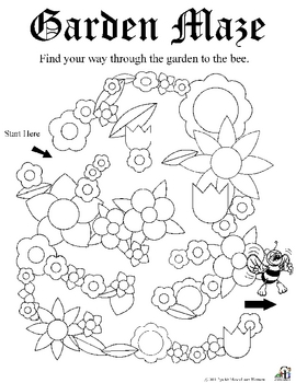 garden worksheets by c and l curriculum teachers pay. Black Bedroom Furniture Sets. Home Design Ideas