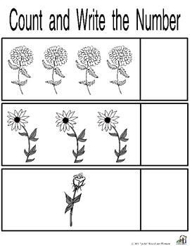 Garden Worksheets