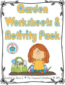 Garden Worksheets & Activity Pack