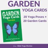 Yoga Cards for Kids - Garden