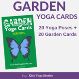 Yoga Cards for Kids - Garden