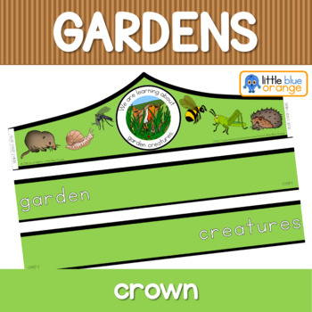 Garden creatures crown