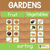 Garden fruit and vegetable sort