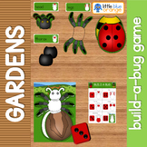 Garden insects build-a-bug game