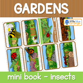 Garden insects mini book
