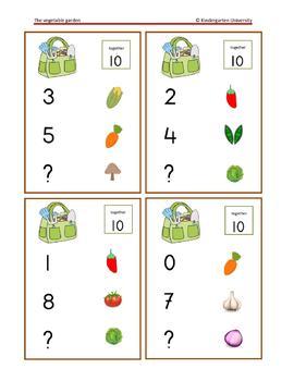 Garden math games