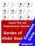 Garden of Abdul Gasazi Lesson & Reading Comprehension Worksheets for Grades 3-5