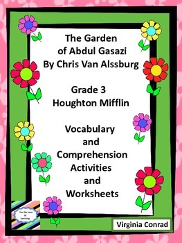 Garden of Abdul Gasazi--Vocab and Comprehension Activities and Worksheets