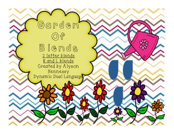 Garden of Blends (2 letter-R and L blends)