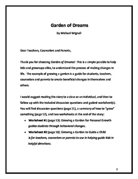 Garden of Dreams: A Parable for Making Friends, Problem Solving & Setting Goals