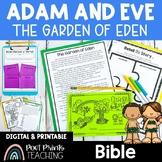 Garden of Eden, Adam and Eve Bible Lesson, Google Classroom