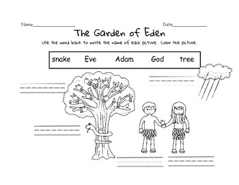 Garden of Eden Labeling