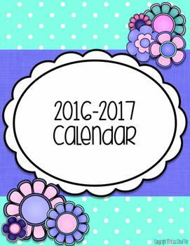 Calendar {Garden of Music}