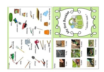Garden tools booklet