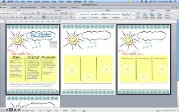 GardenSun Newsletter template