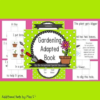 Gardening Adapted Book