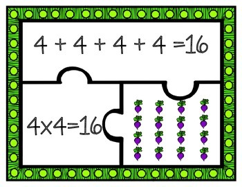 Gardening Array Puzzles