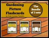 Gardening BUNDLE (set I, II, III) Picture Flashcards