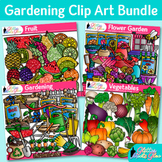 Gardening Clipart Bundle: Fruit, Vegetable, Flower Graphic {Glitter Meets Glue}