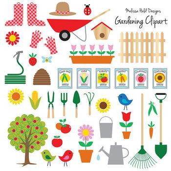 Clipart: Gardening Clip Art