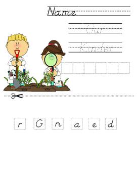 Gardening Interactive Notebook