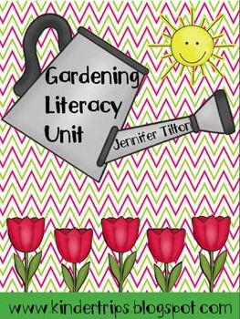 Gardening Literacy Unit-Teaching Materials, Literacy Centers-Common Core