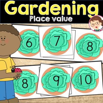 Gardening Preschool and PreK Math Activity