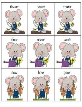 Gardening Mouse! Ou/Ow game!