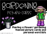 Gardening Picture Cards