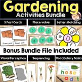 Gardening PreK Literacy and Math Activities